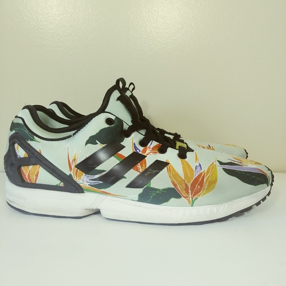 7a141a0e223cb Adidas Zx Flux Nps Shoes 11.5 Hawaiian/Paradise